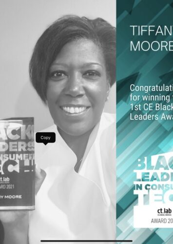 Tiffany Moore Honored with 2021 Inaugural Black Leaders in Technology Award